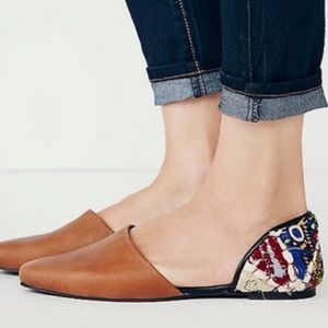 Free People | Rajah D'orsay Flats Shoes Colorful